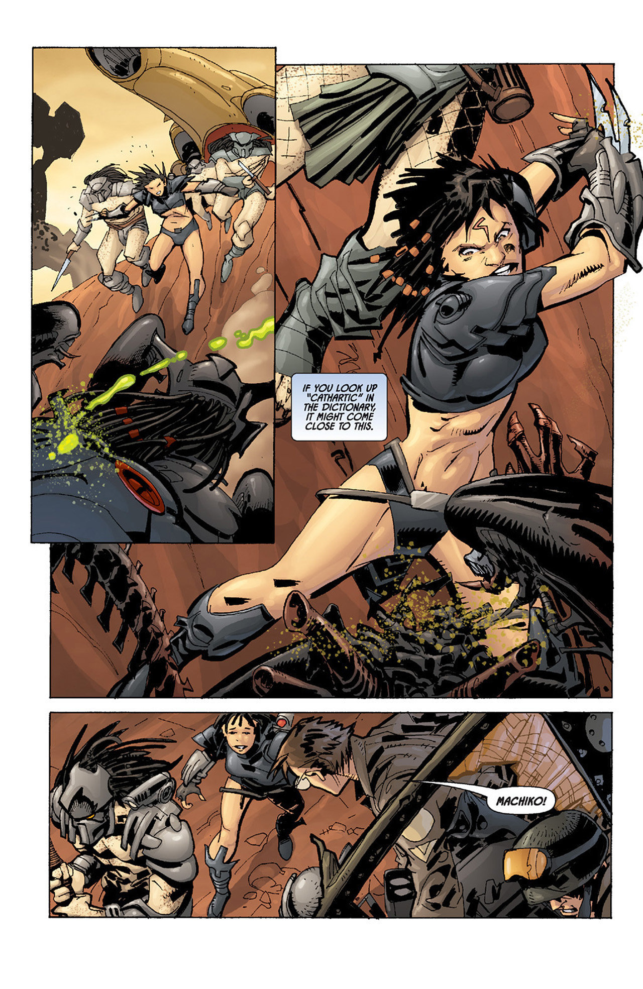 Read online Aliens vs. Predator: Three World War comic -  Issue #4 - 22