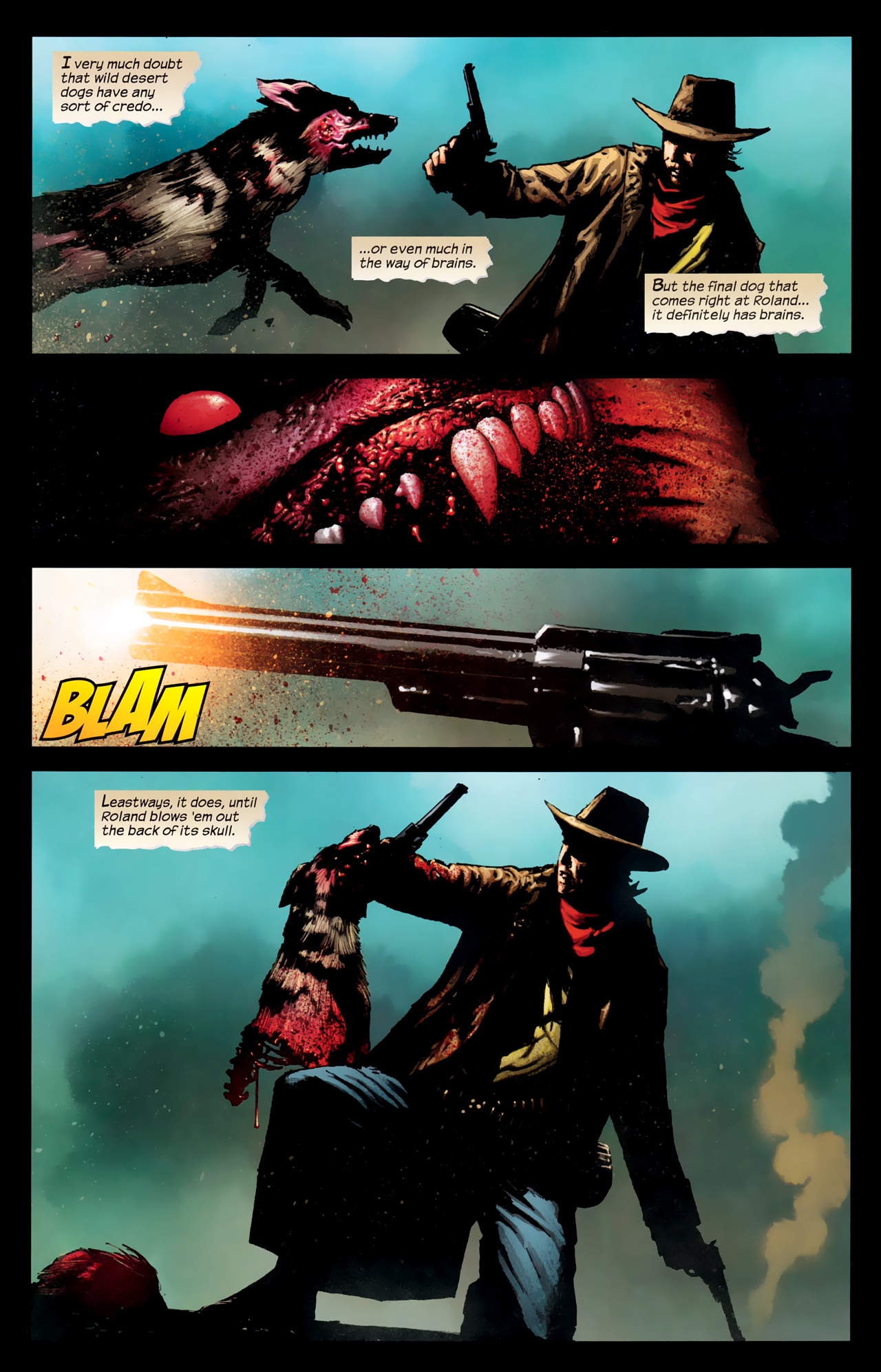 Read online Dark Tower: The Gunslinger - The Way Station comic -  Issue #1 - 14