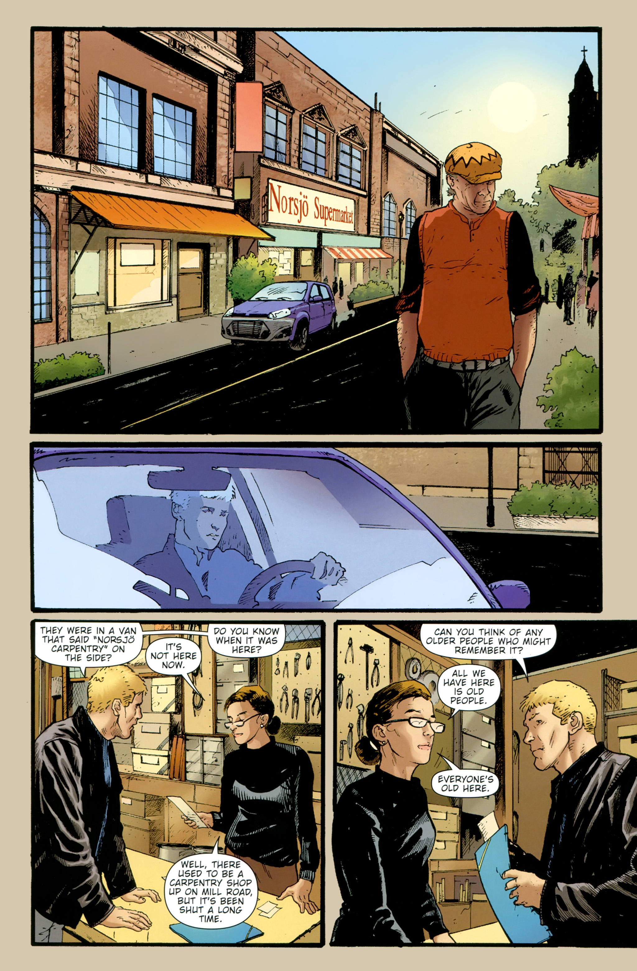 Read online The Girl With the Dragon Tattoo comic -  Issue # TPB 2 - 53