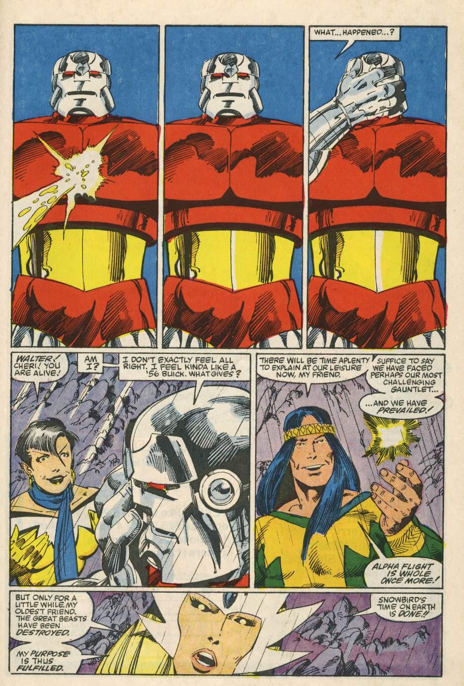 Read online Alpha Flight (1983) comic -  Issue #24 - 35