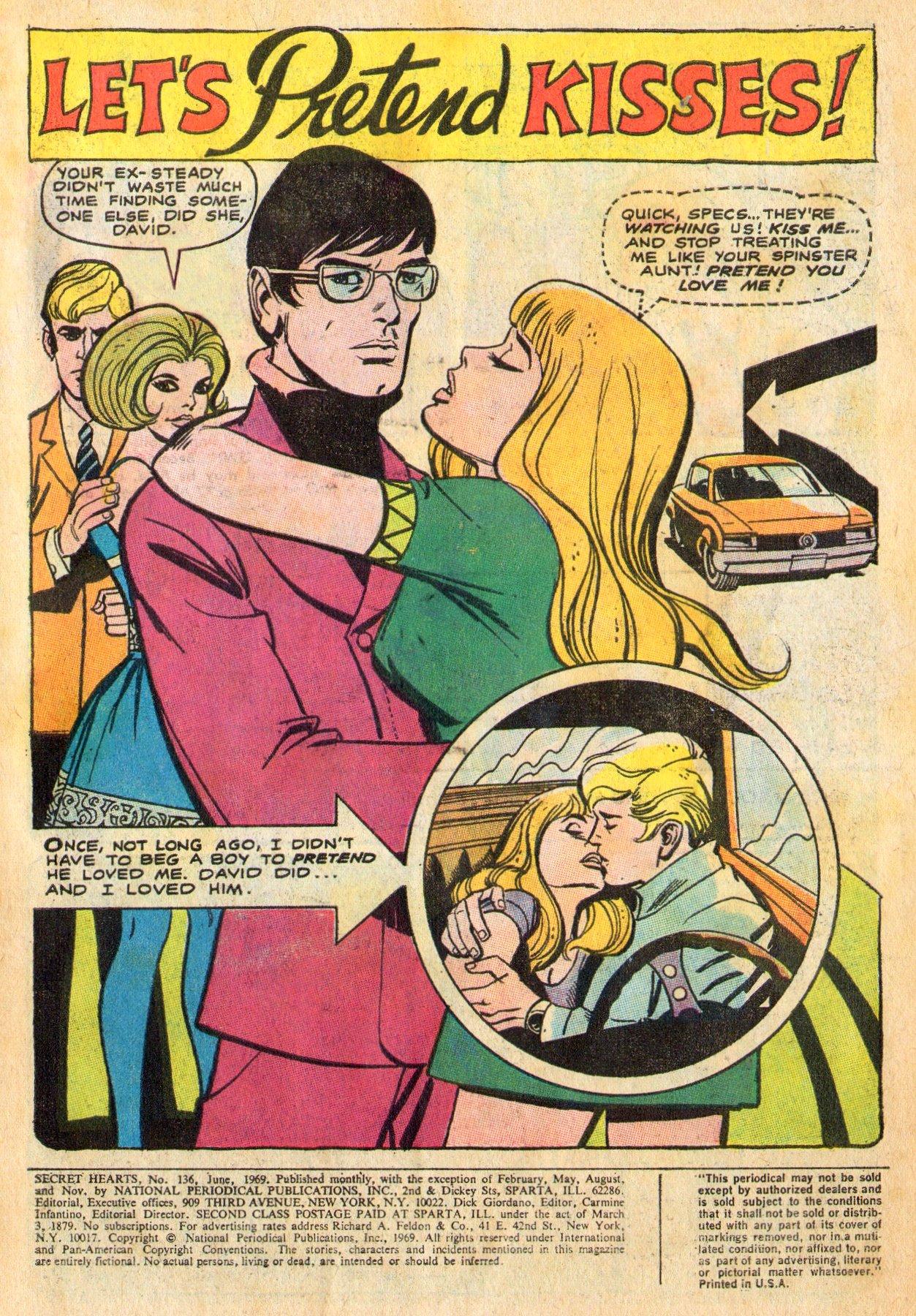 Read online Secret Hearts comic -  Issue #136 - 3