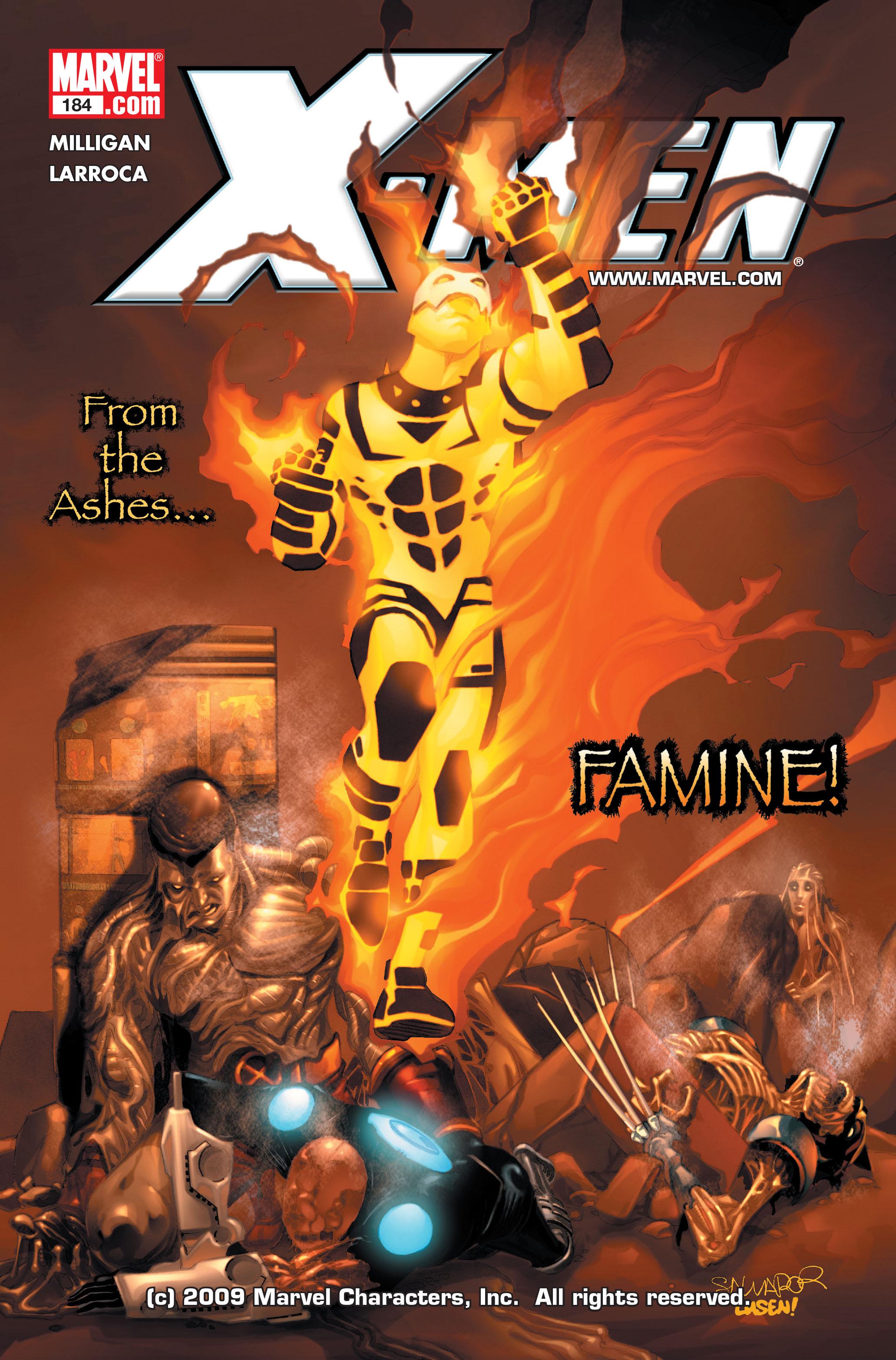 X-Men (1991) 184 Page 0