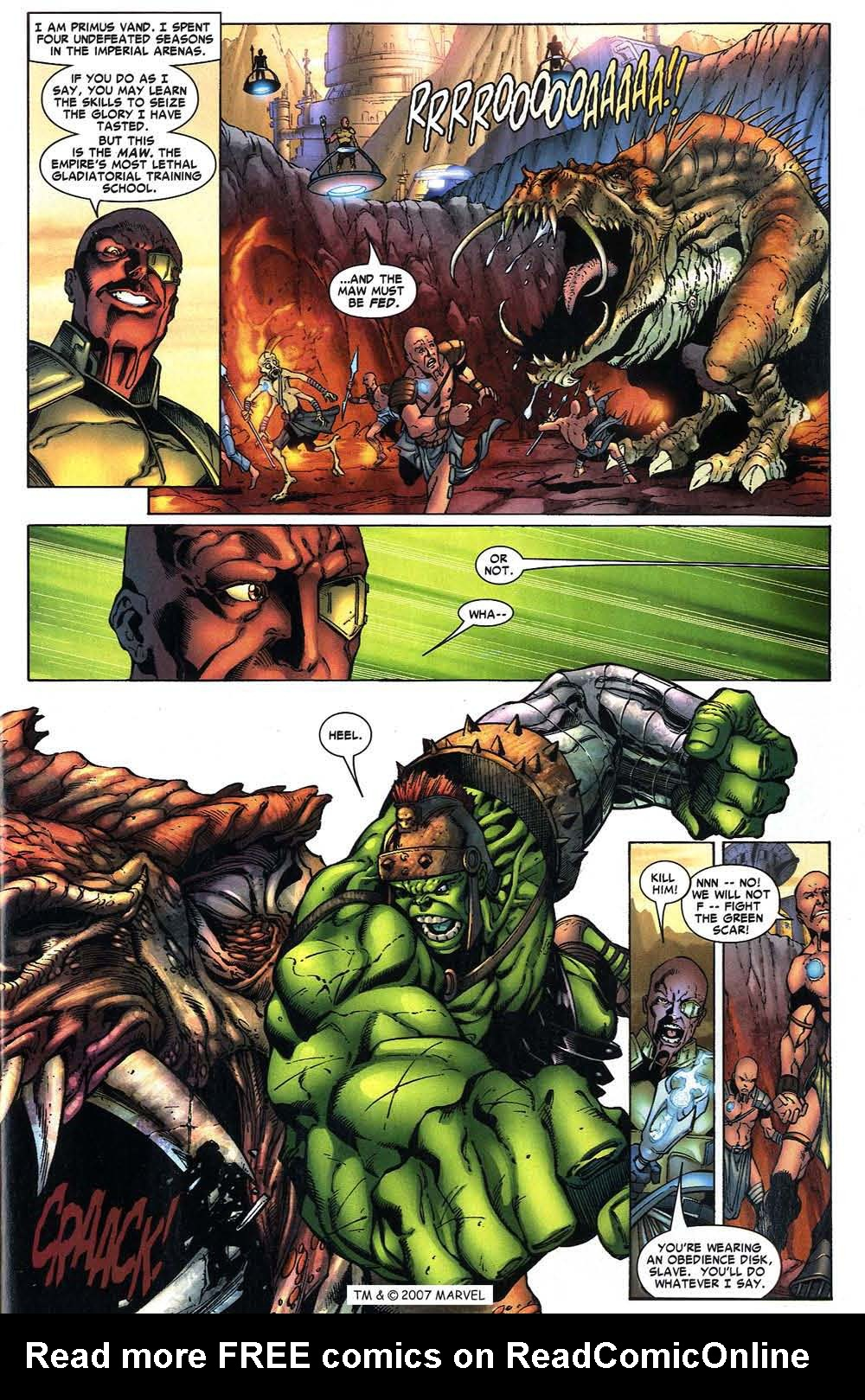 Read online The Incredible Hulk (2000) comic -  Issue #97 - 9