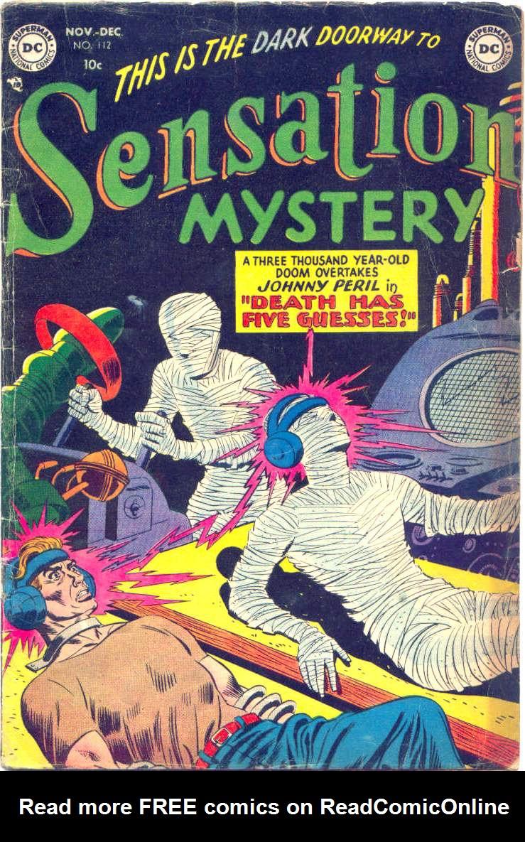 Read online Sensation (Mystery) Comics comic -  Issue #112 - 1