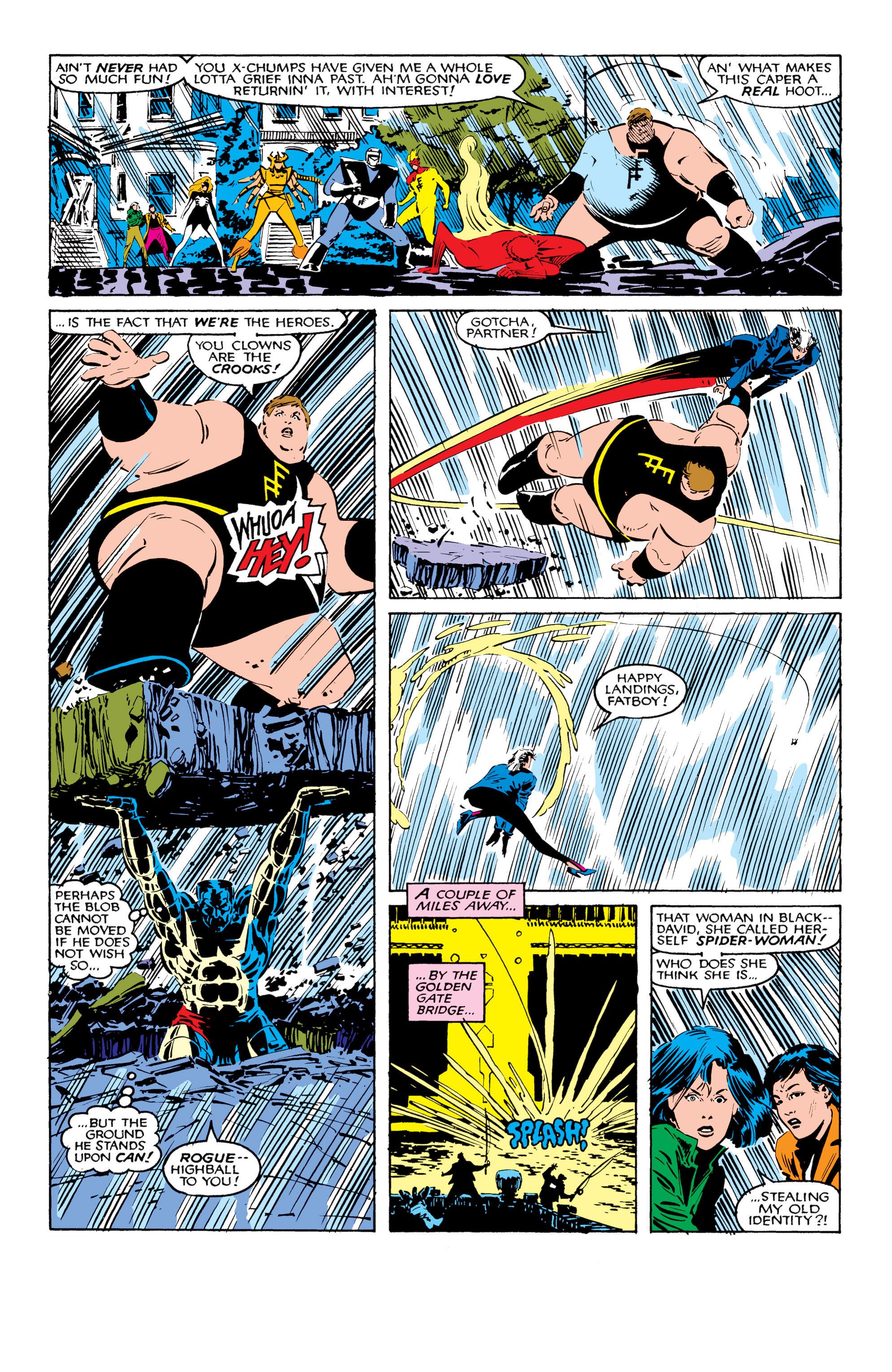Read online Uncanny X-Men (1963) comic -  Issue #206 - 17