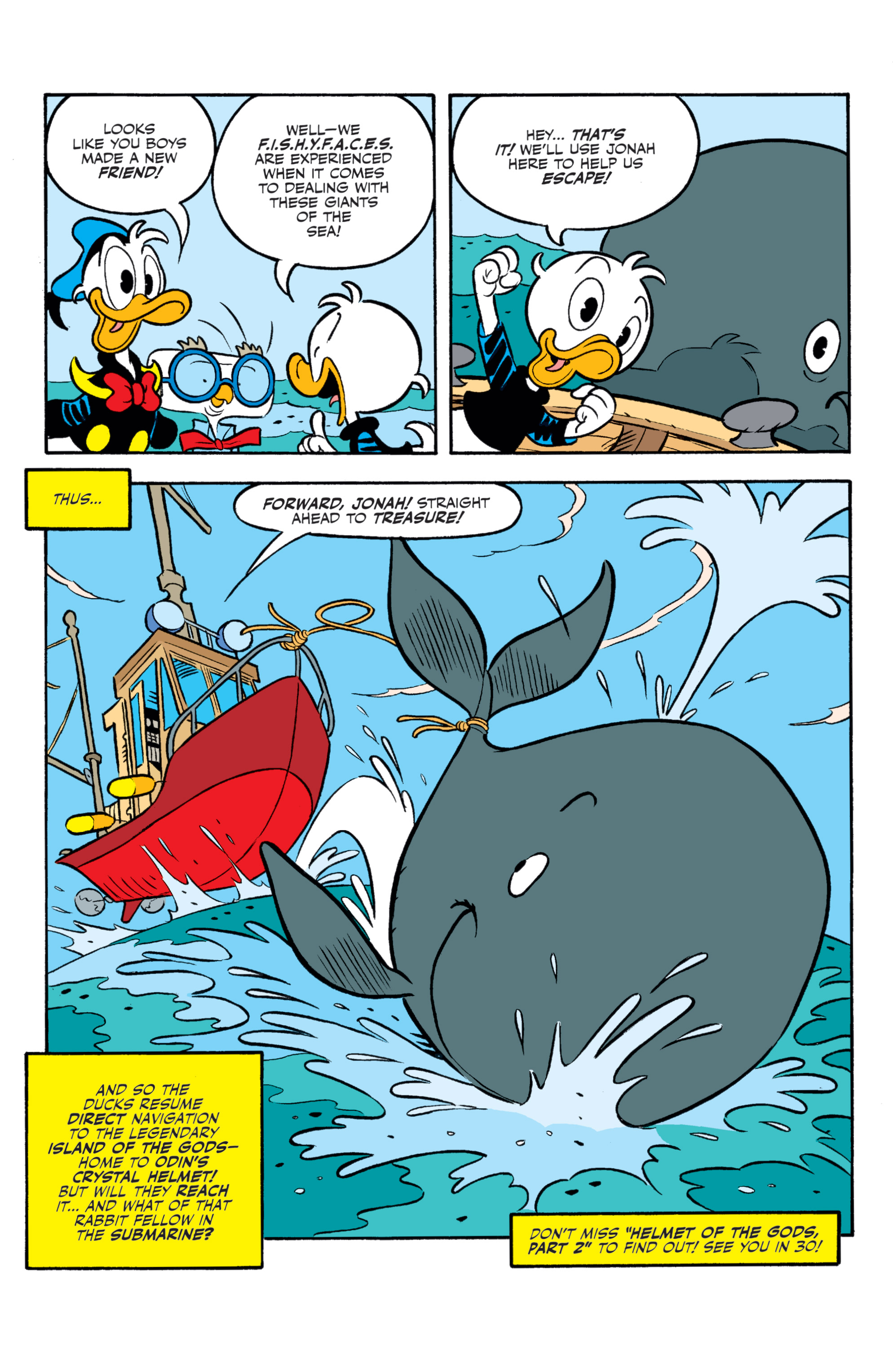Read online Donald Duck (2015) comic -  Issue #20 - 22