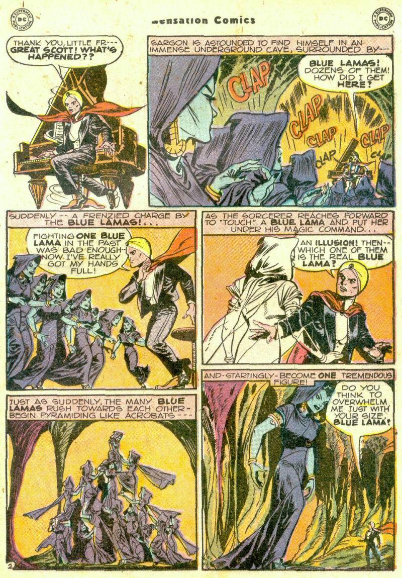 Read online Sensation (Mystery) Comics comic -  Issue #74 - 25