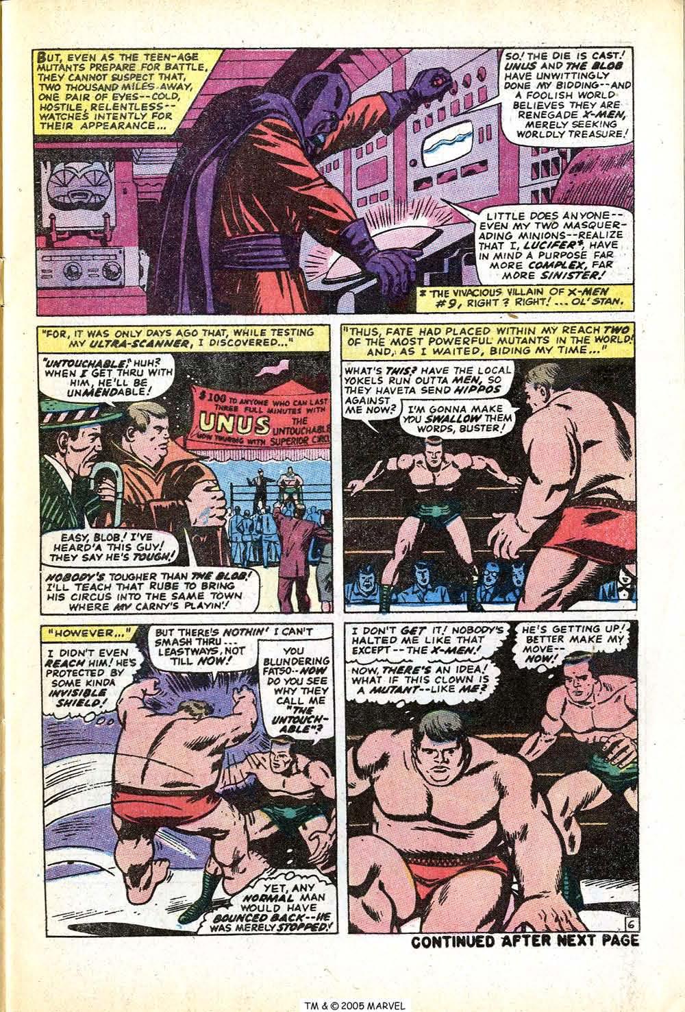 Uncanny X-Men (1963) issue 71 - Page 9