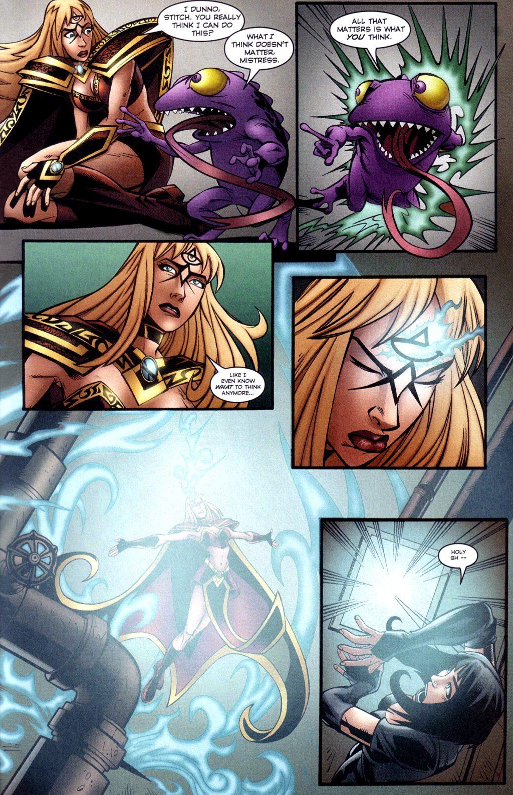 Read online Jezebelle comic -  Issue #3 - 16