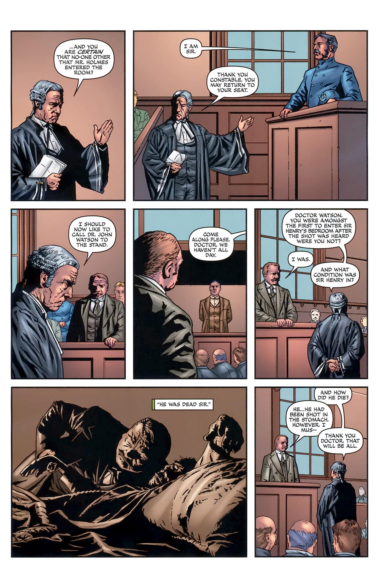 Read online Sherlock Holmes (2009) comic -  Issue #5 - 8