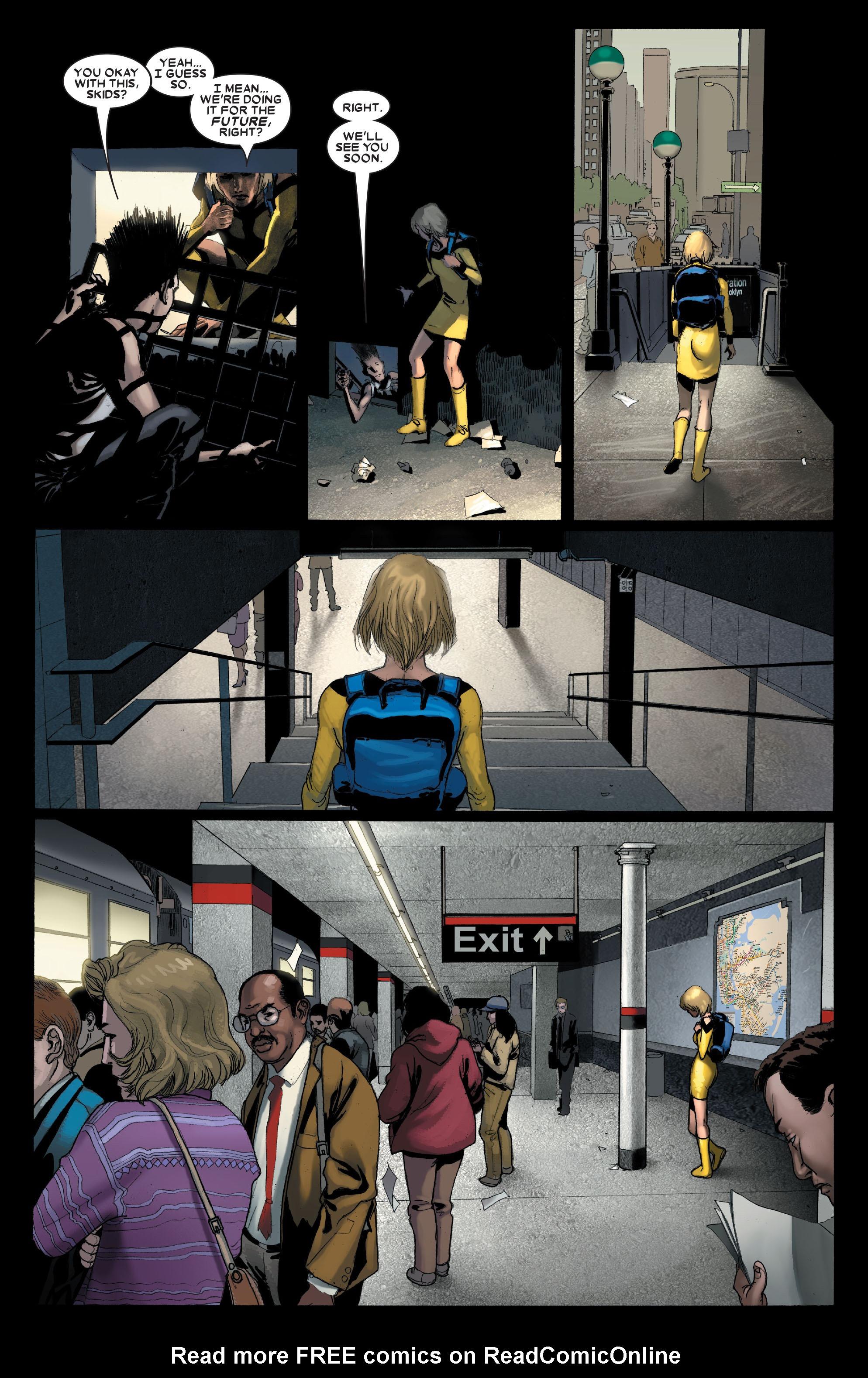 Read online Uncanny X-Men (1963) comic -  Issue #488 - 18