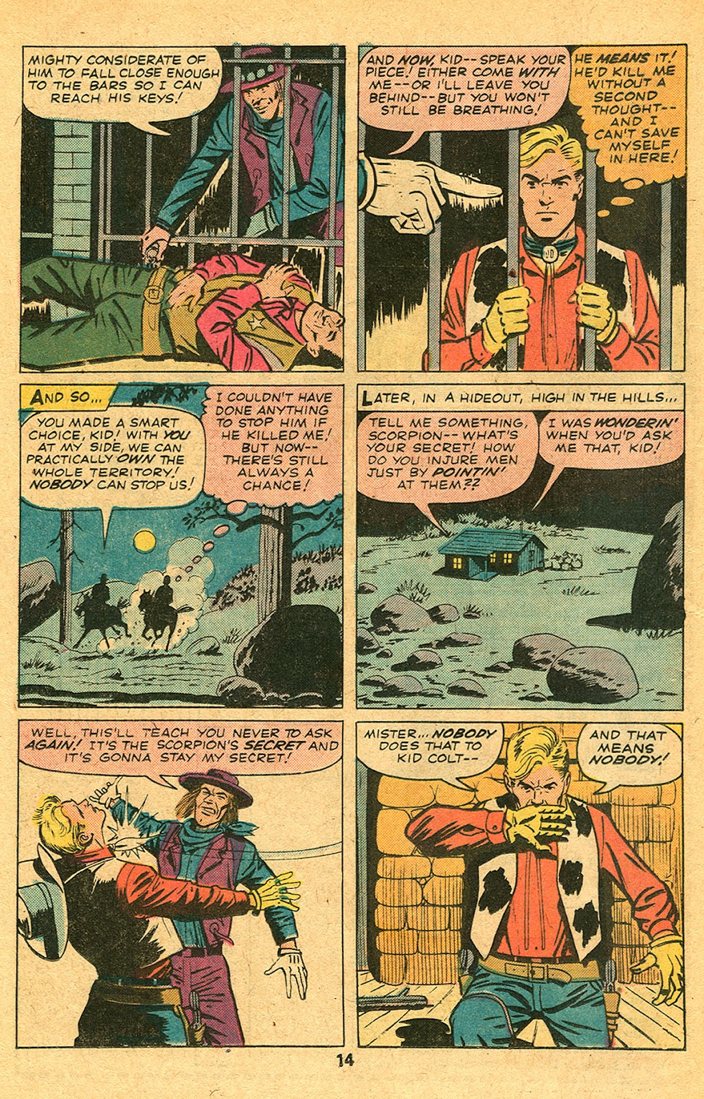 Kid Colt Outlaw issue 193 - Page 16