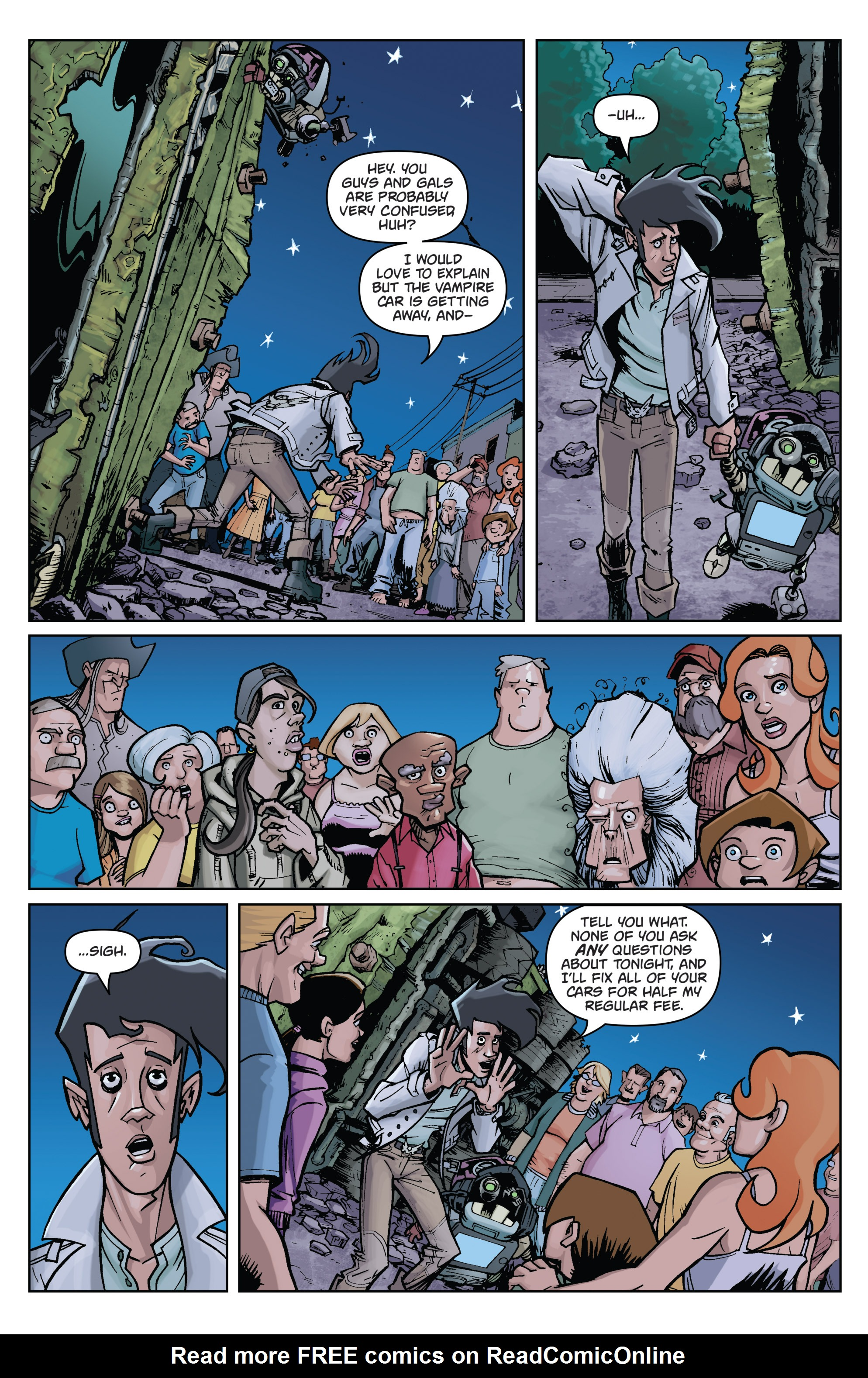 Read online Monster Motors comic -  Issue # Full - 39