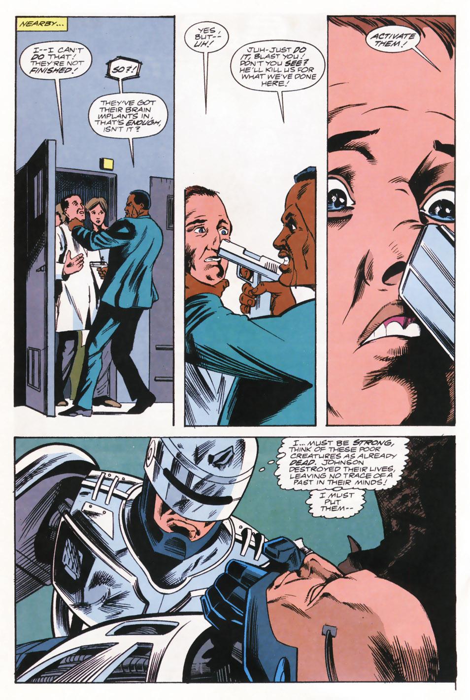 Read online Robocop (1990) comic -  Issue #15 - 14