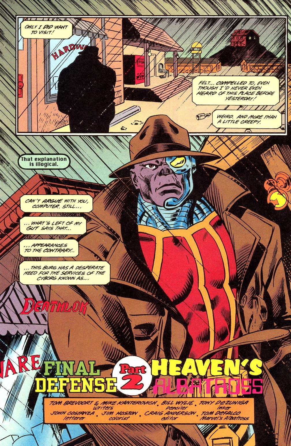 Read online Secret Defenders comic -  Issue #23 - 3