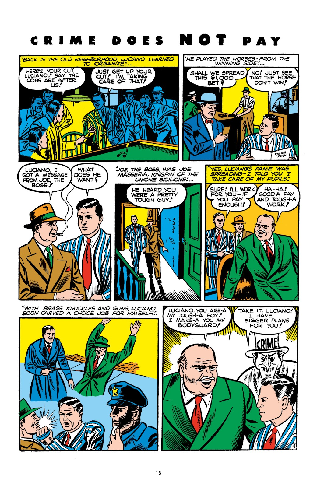 Read online Crime Does Not Pay Archives comic -  Issue # TPB 2 (Part 1) - 18