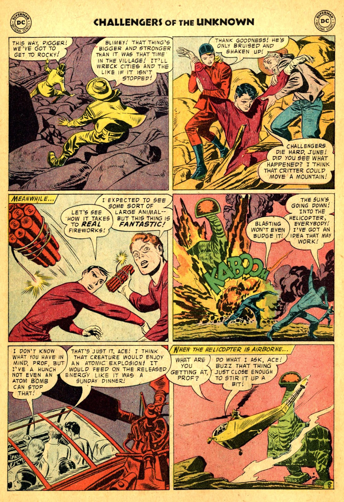 Challengers of the Unknown (1958) issue 2 - Page 10