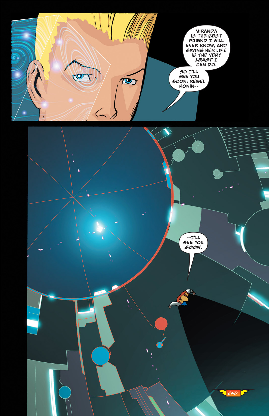 Read online The Many Adventures of Miranda Mercury: Time Runs Out comic -  Issue # TPB - 37