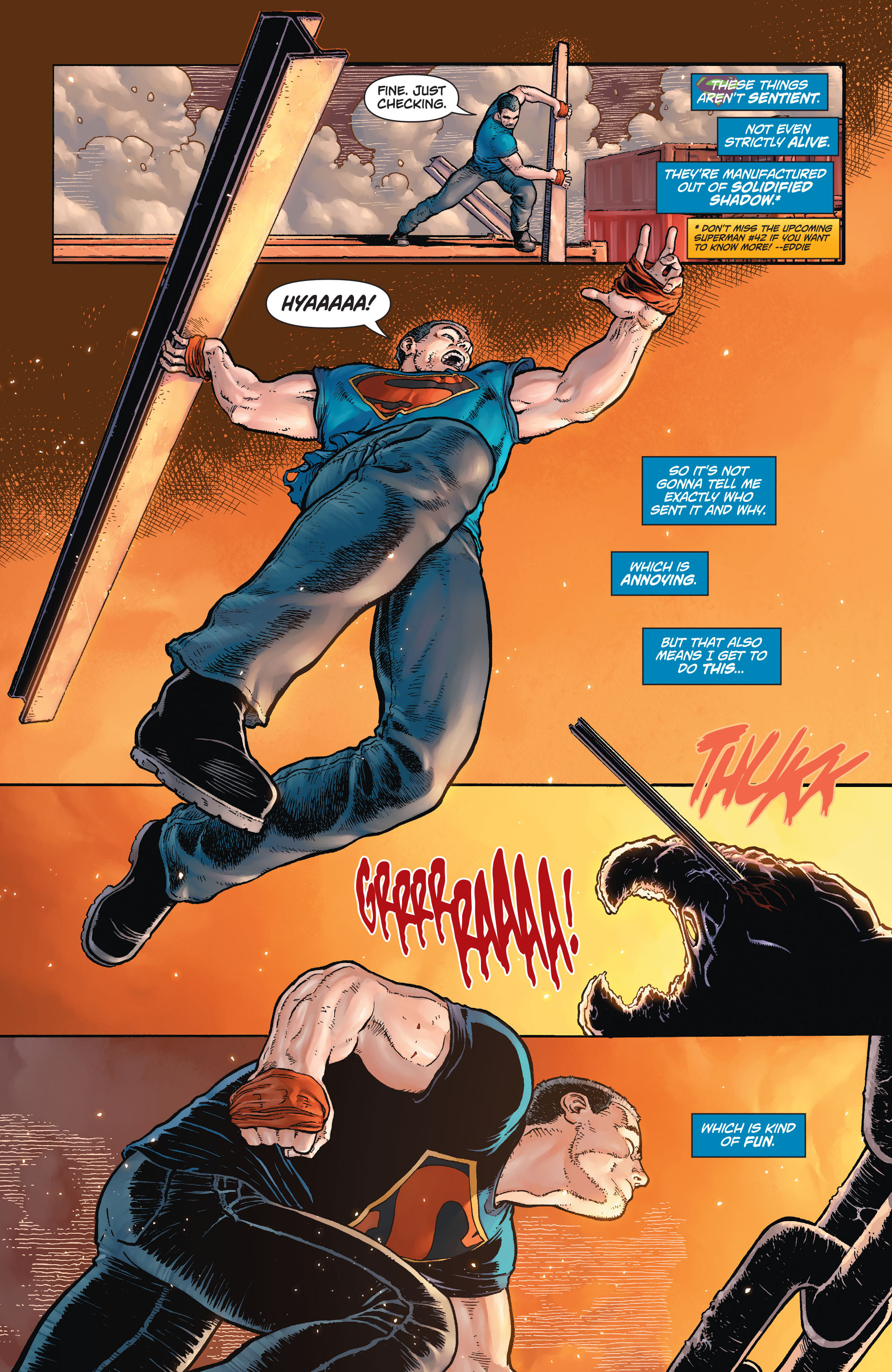 Read online Action Comics (2011) comic -  Issue #42 - 7