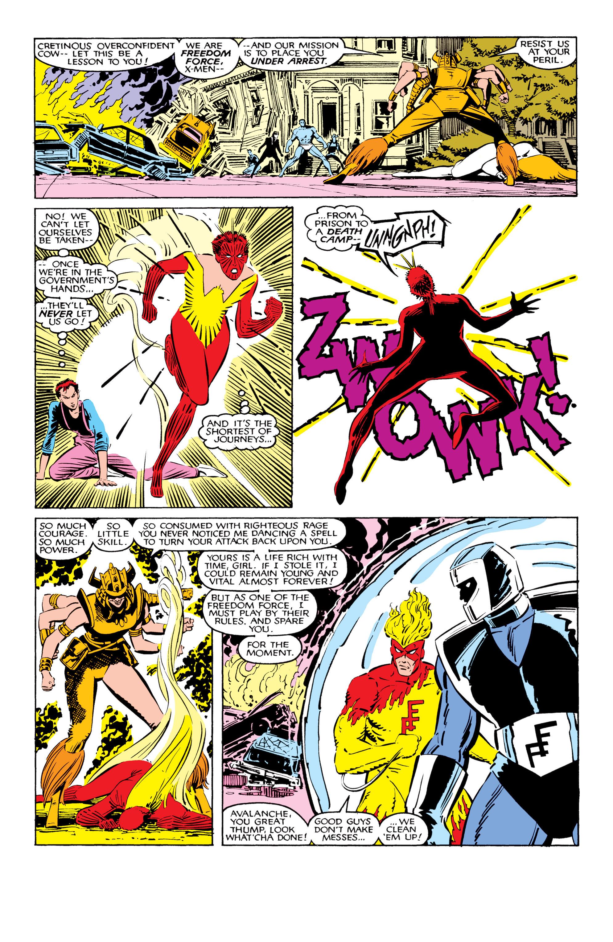 Read online Uncanny X-Men (1963) comic -  Issue #206 - 12