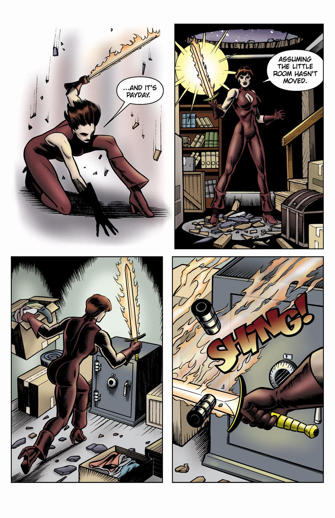 Read online SideChicks comic -  Issue #3 - 34