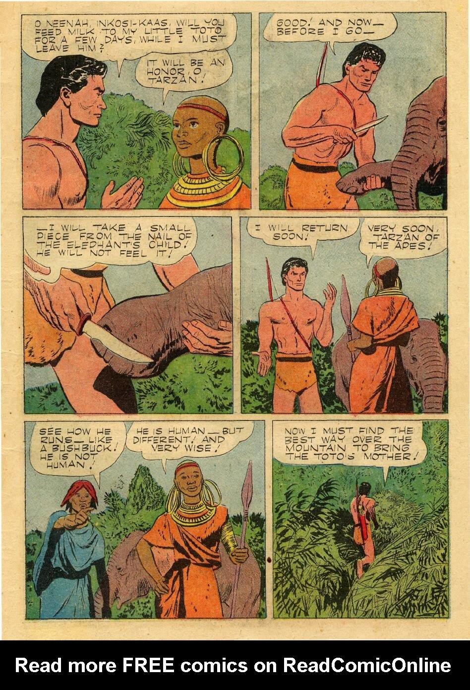 Tarzan (1948) issue 76 - Page 11