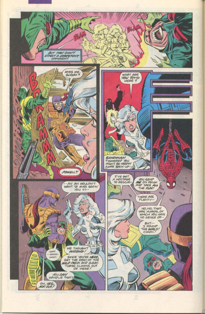 Read online Silver Sable and the Wild Pack comic -  Issue #1 - 19