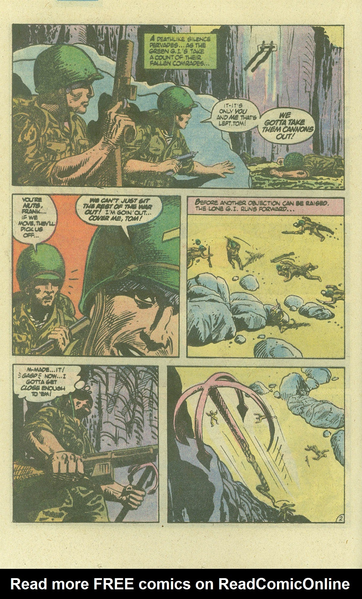 Read online Sgt. Rock comic -  Issue #386 - 15