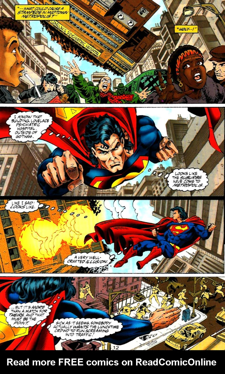 Read online Adventures of Superman (1987) comic -  Issue #536 - 13