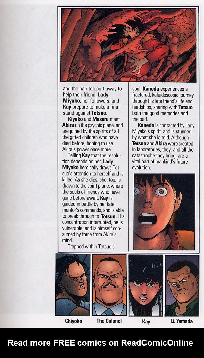Read online Akira comic -  Issue #36 - 7