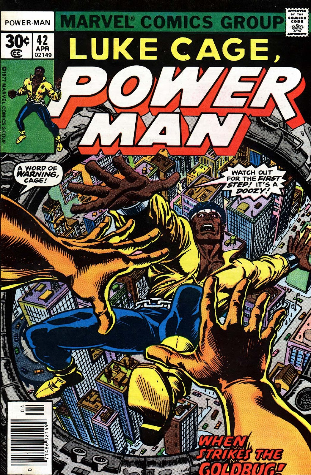 Power Man issue 42 - Page 1