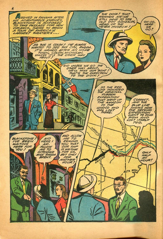 Read online Super-Magician Comics comic -  Issue #9 - 4