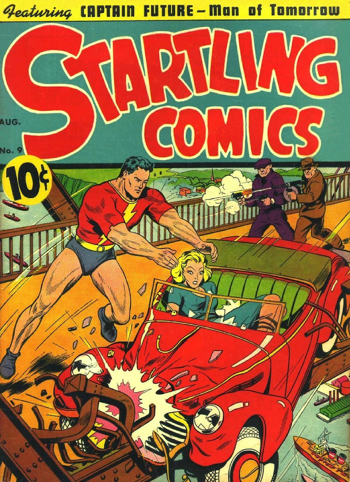 Startling Comics 9 Page 1