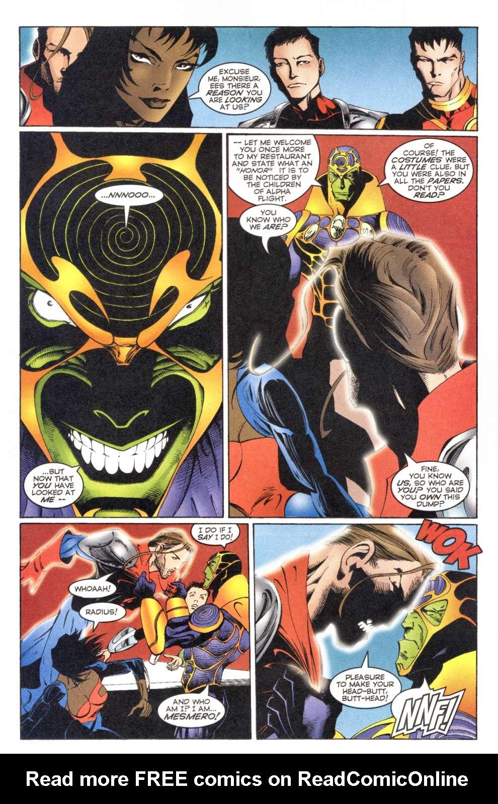 Read online Alpha Flight (1997) comic -  Issue #4 - 5