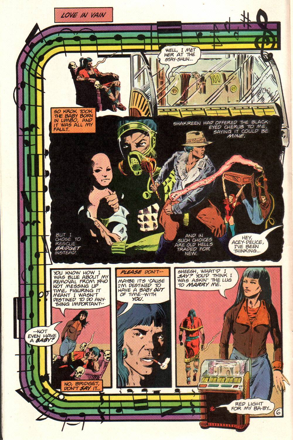 Read online Aztec Ace comic -  Issue #12 - 7