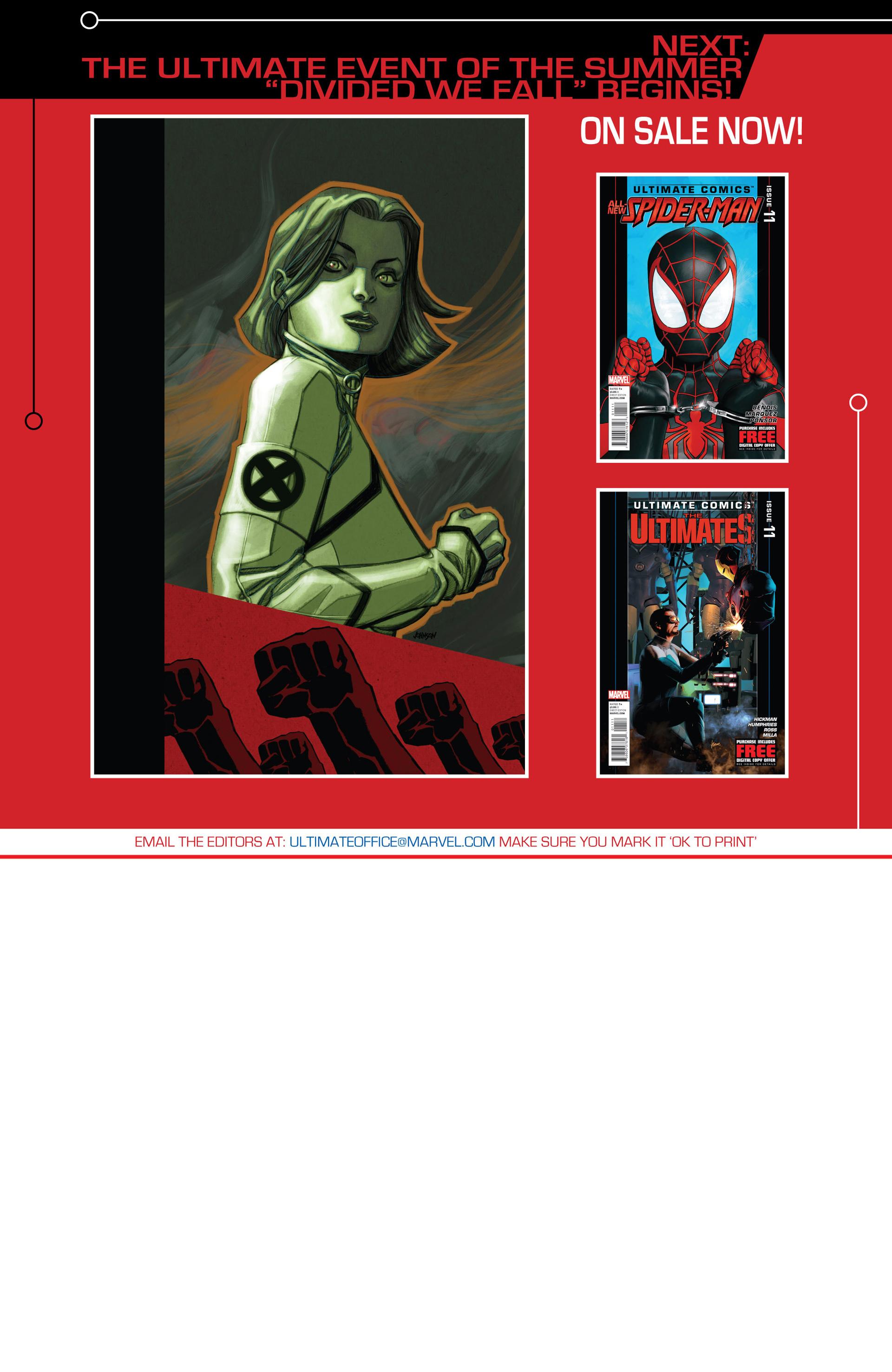 Read online Ultimate Comics X-Men comic -  Issue #13 - 22