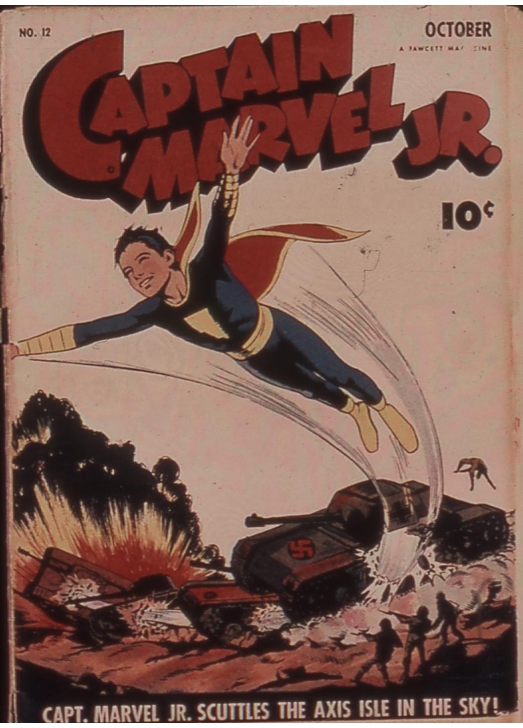 Captain Marvel, Jr. 12 Page 1