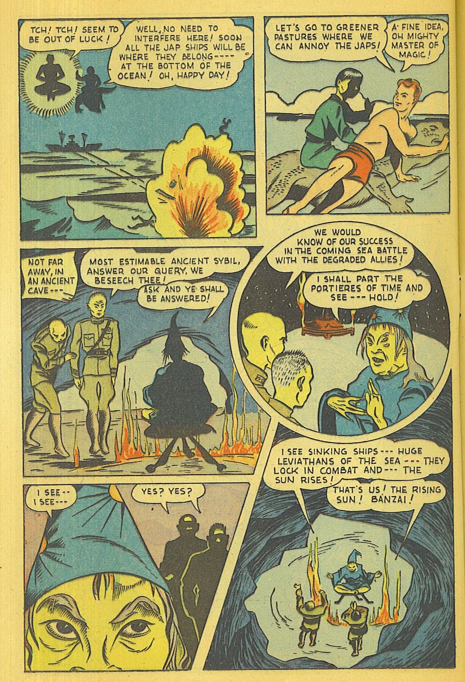 Read online Super-Magician Comics comic -  Issue #39 - 31
