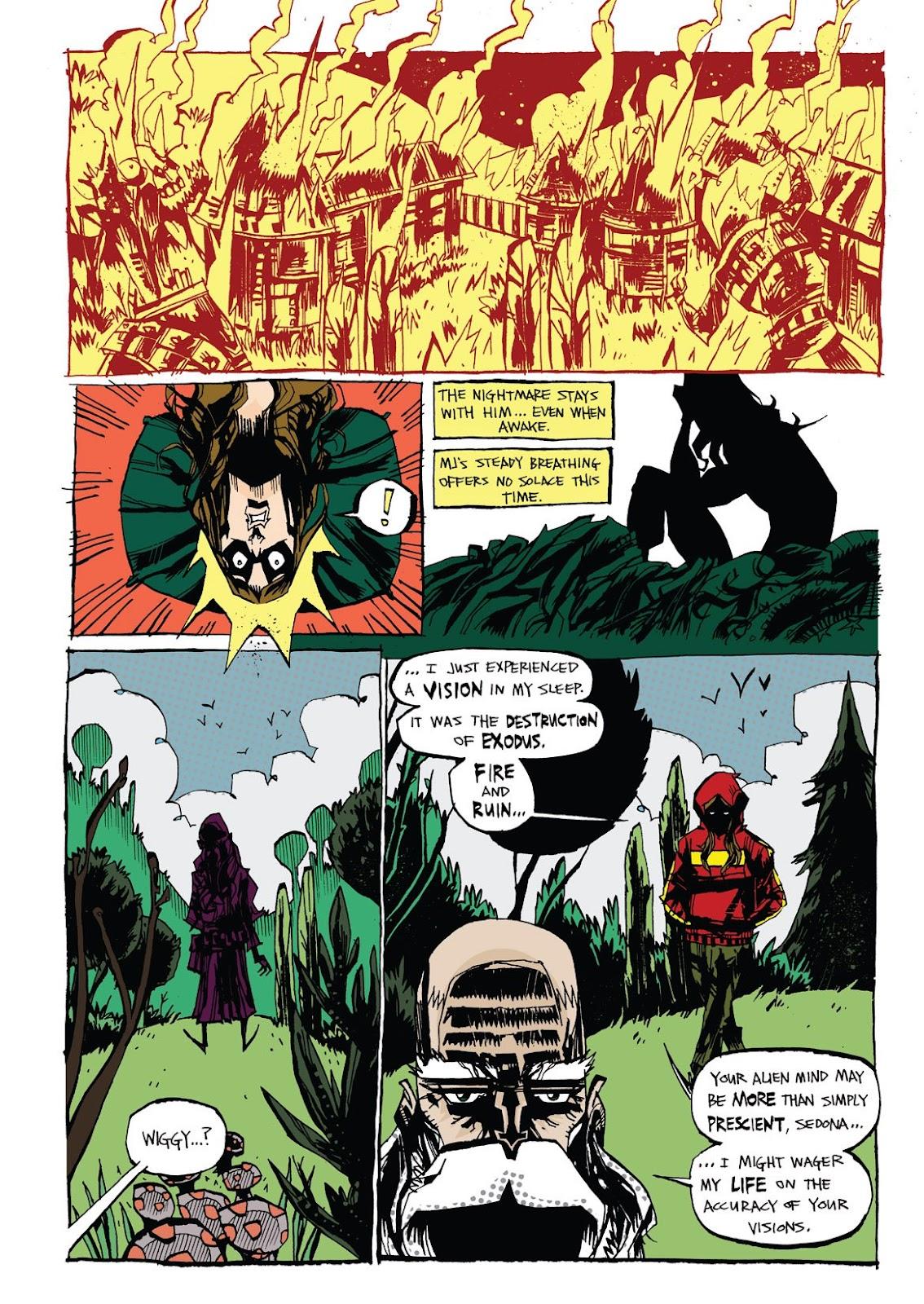 Read online Marijuanaman comic -  Issue # Full - 34