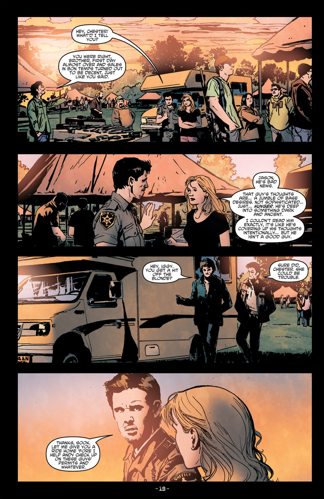 Read online True Blood (2012) comic -  Issue #6 - 21
