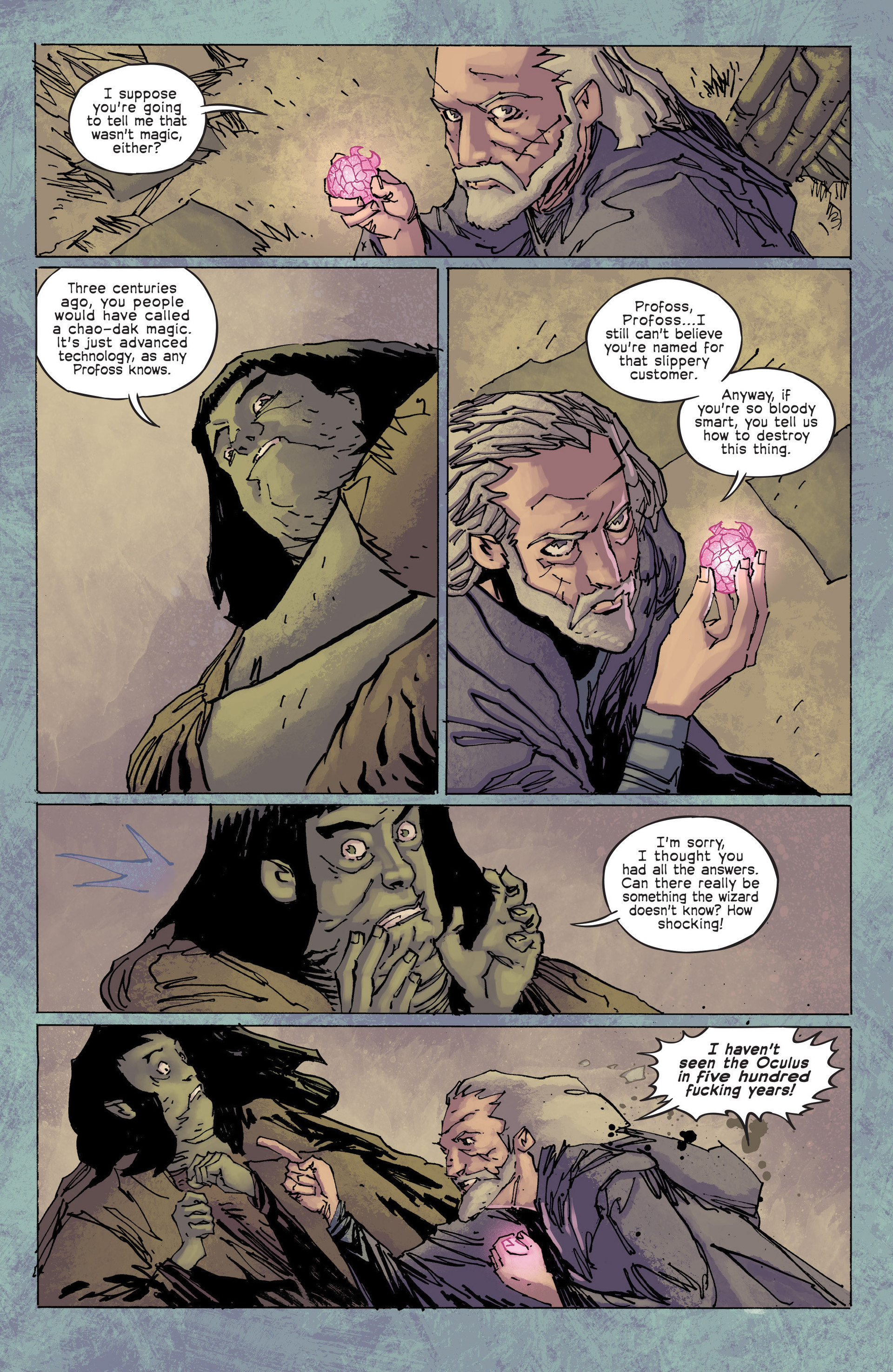 Read online Umbral comic -  Issue #6 - 15