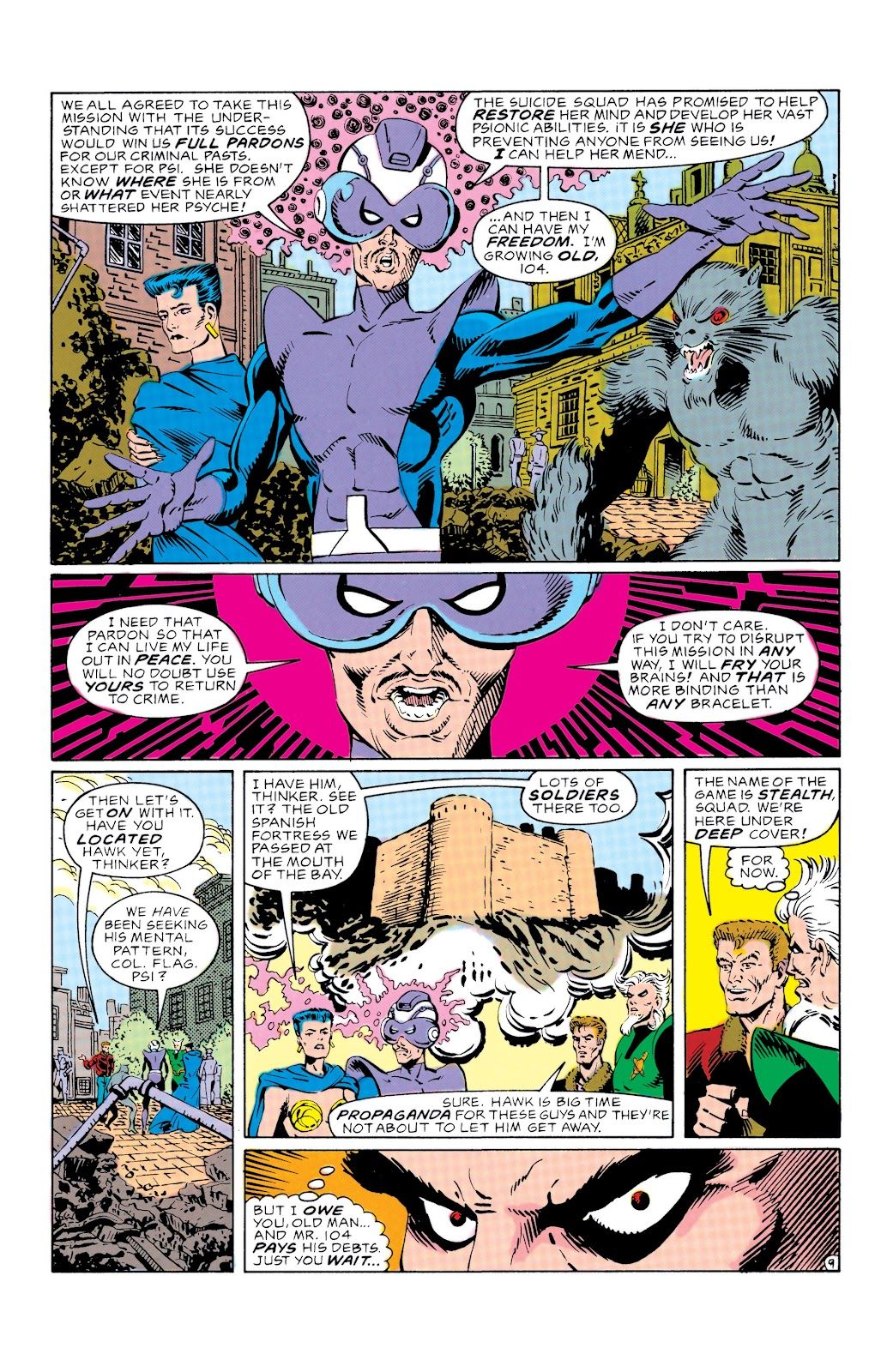 Doom Patrol and Suicide Squad Special issue Special 1 - Page 10
