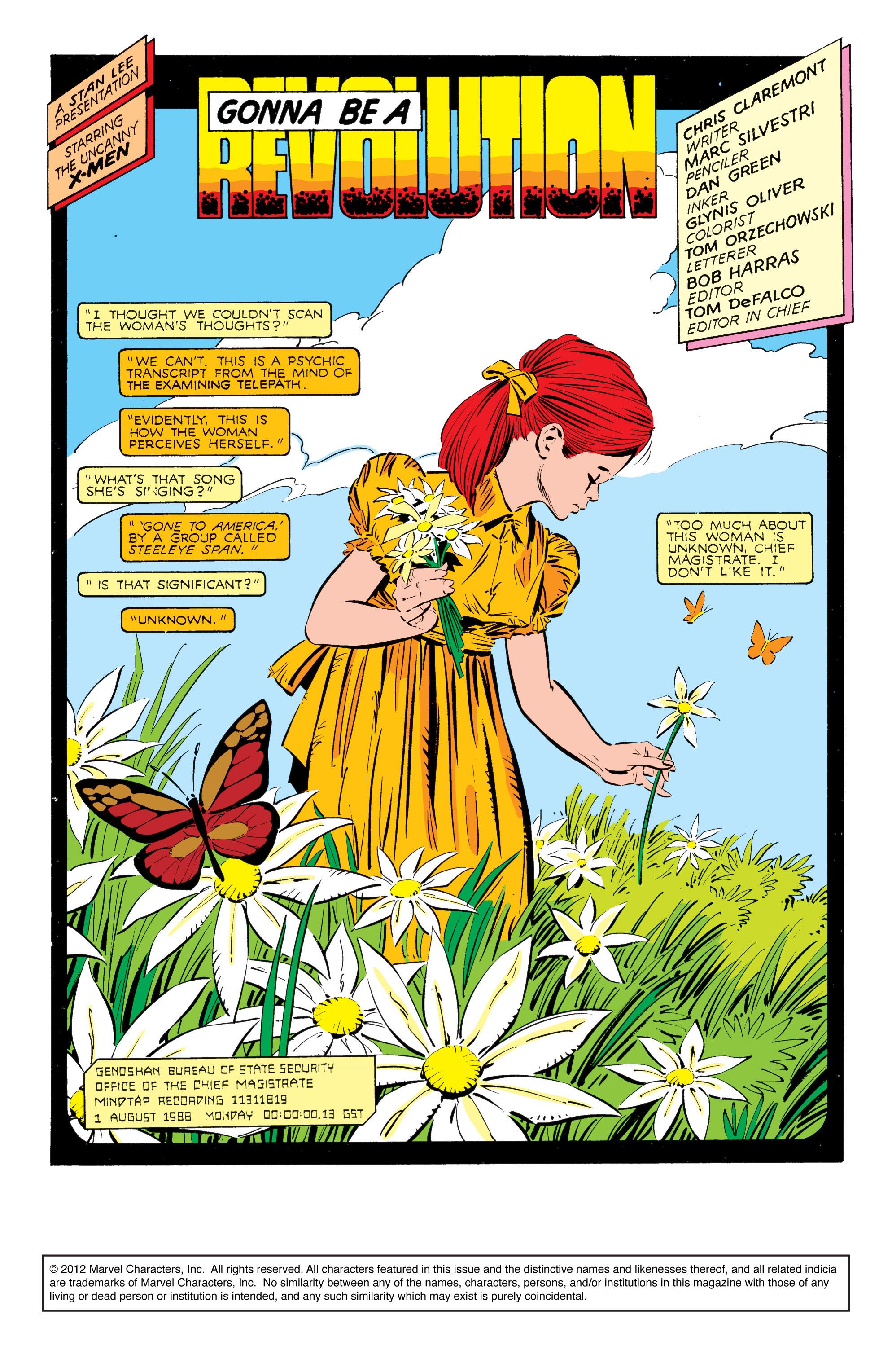Read online Uncanny X-Men (1963) comic -  Issue #238 - 2