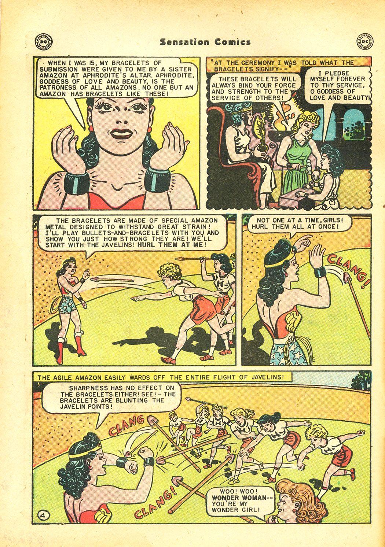Read online Sensation (Mystery) Comics comic -  Issue #86 - 6