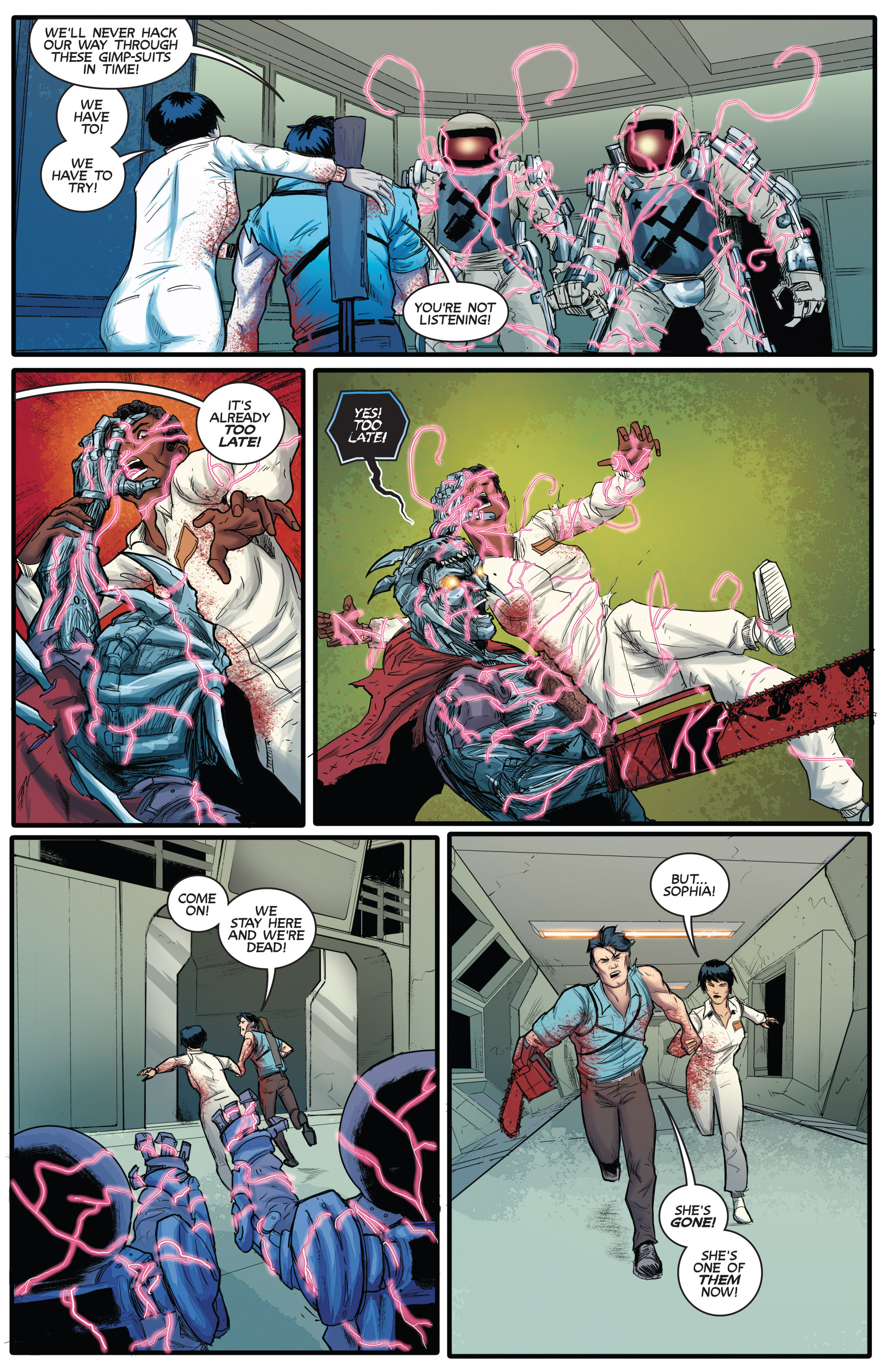 Read online Army of Darkness (2014) comic -  Issue #3 - 22