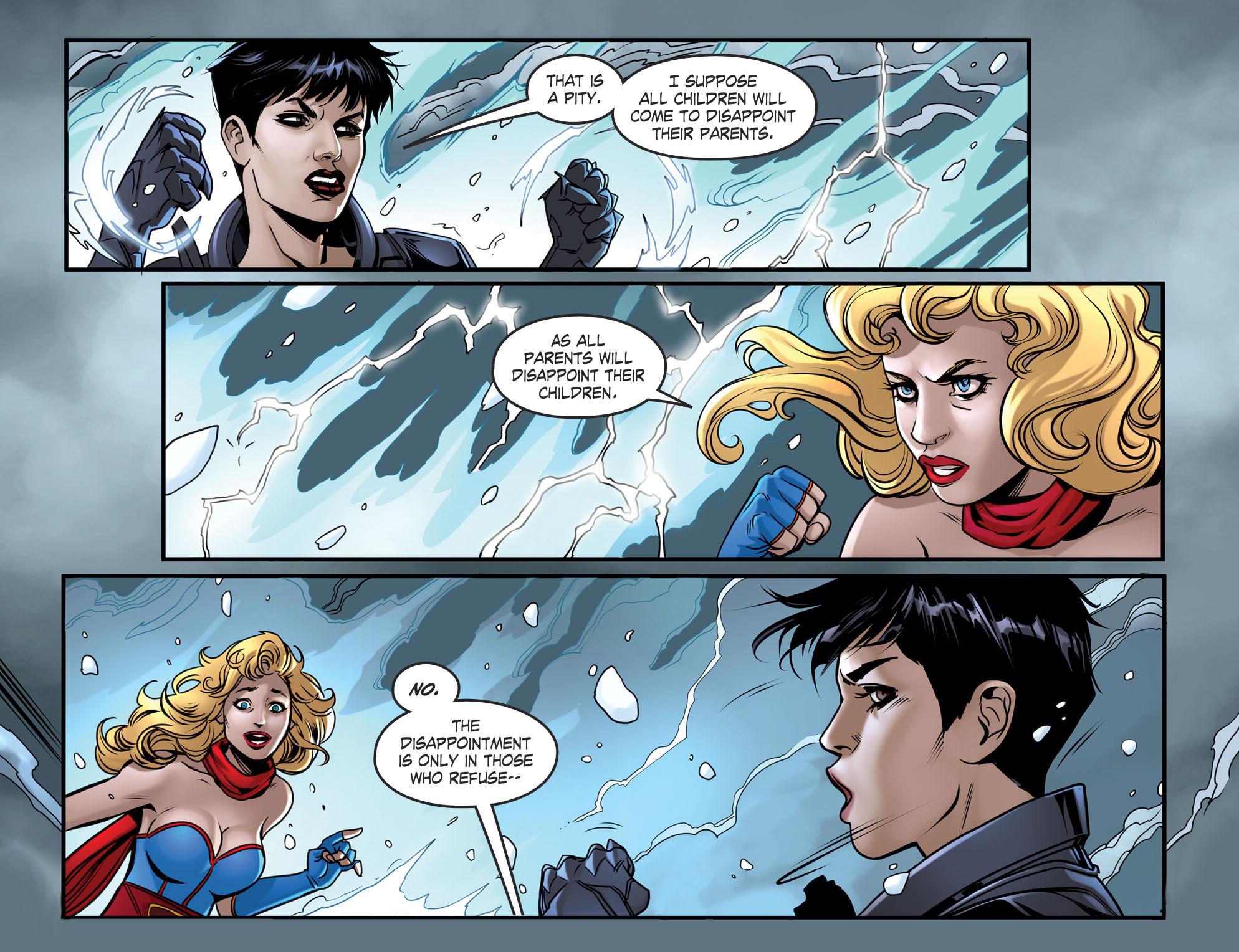 Read online DC Comics: Bombshells comic -  Issue #94 - 22