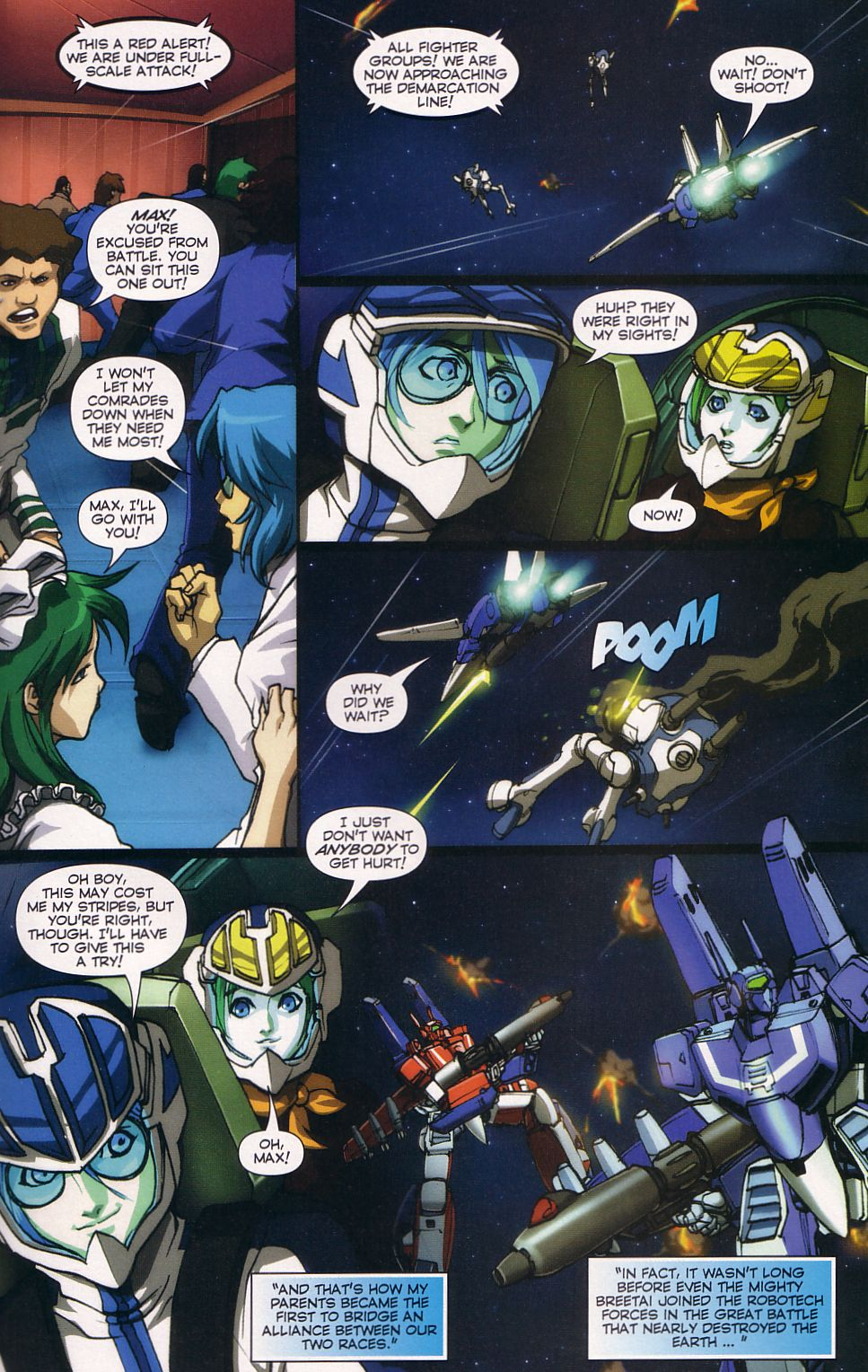 Read online Robotech: Love and War comic -  Issue #6 - 13
