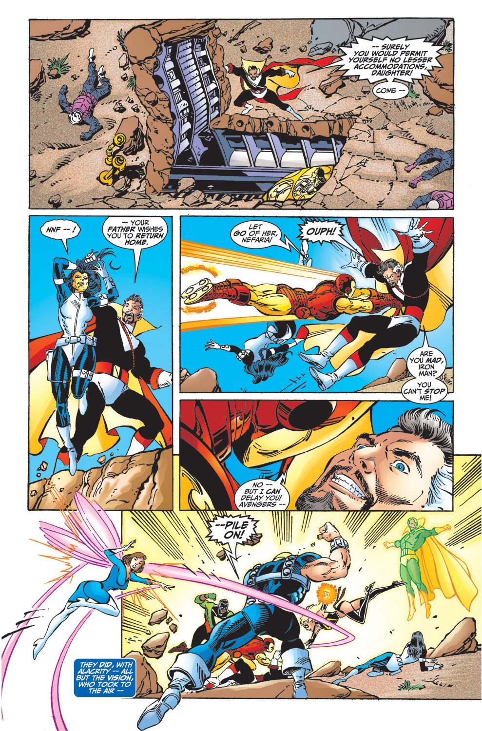 Read online Avengers (1998) comic -  Issue #33 - 12
