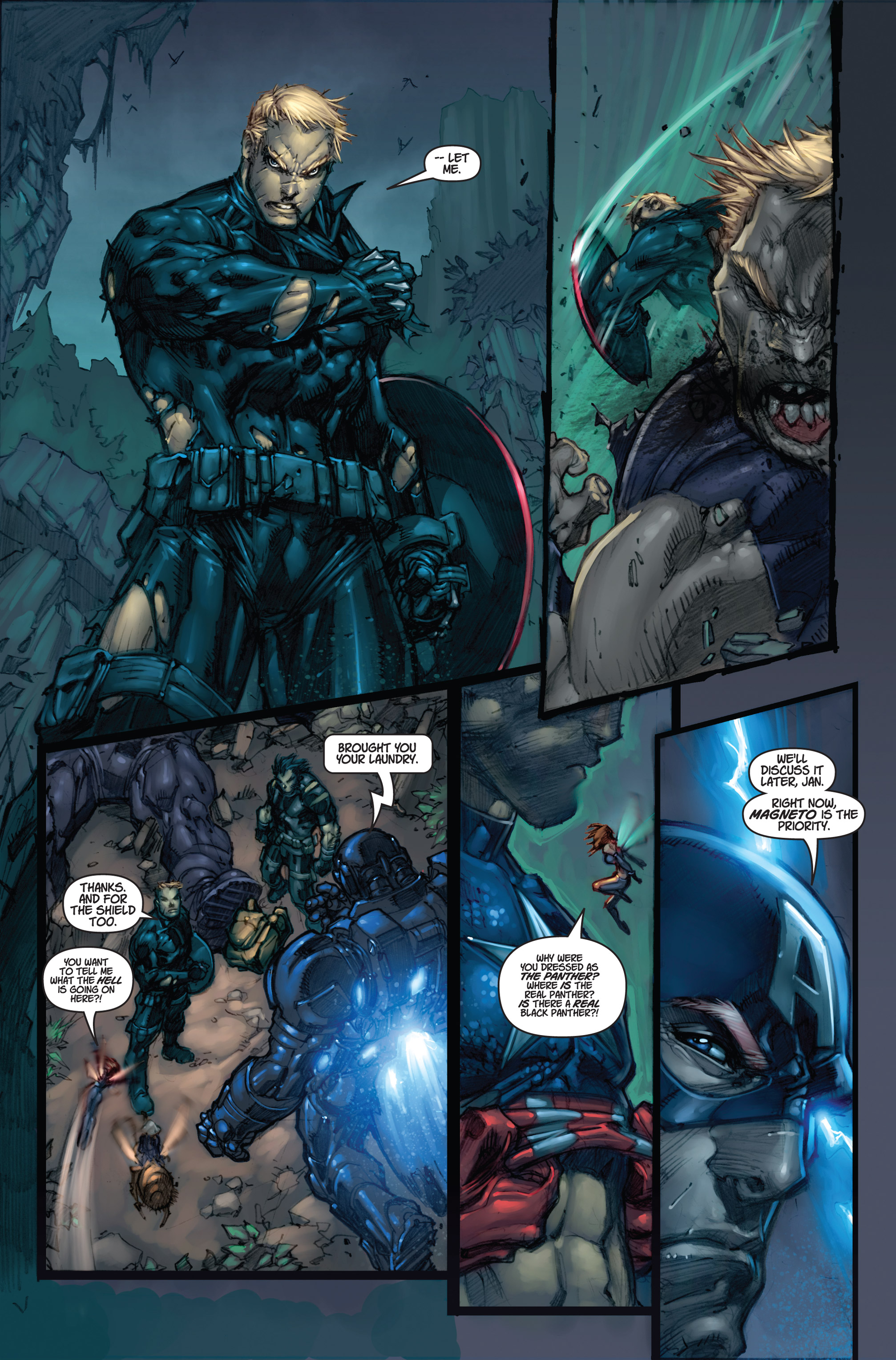 Read online Ultimates 3 comic -  Issue #5 - 11
