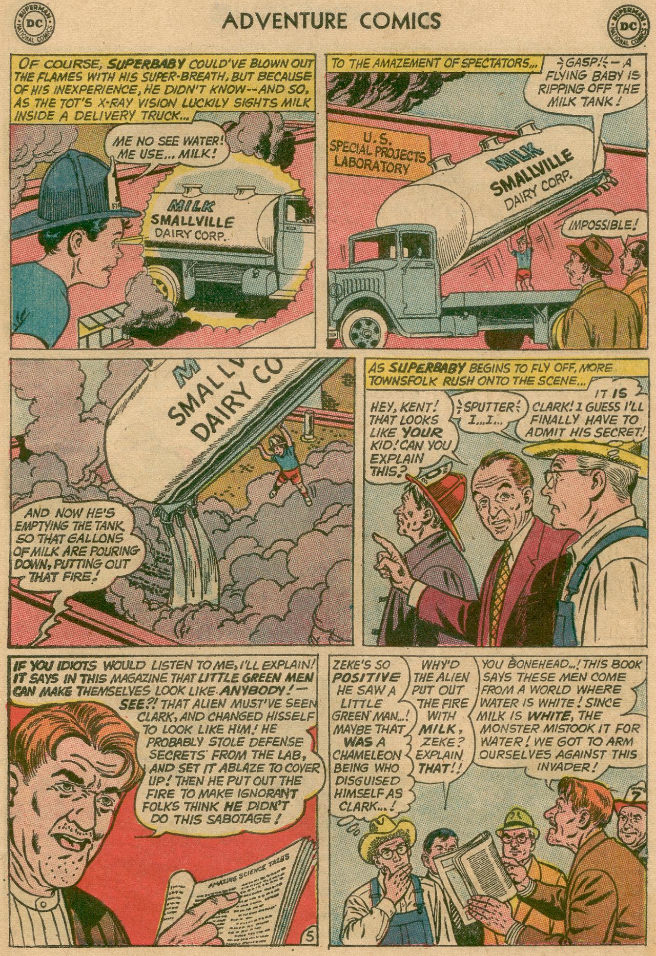 Read online Adventure Comics (1938) comic -  Issue #311 - 25
